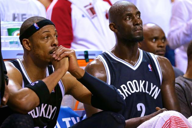 Paul Pierce Still '1 or 2' Years from Retiring, Noncommittal on Future with Nets