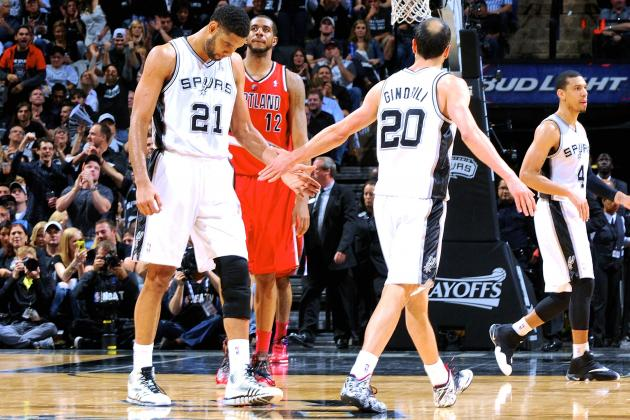 Blazers vs. Spurs: Game 5 Score and Twitter Reaction from 2014 NBA Playoffs