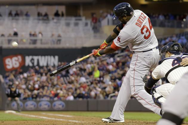 Boston's David Ortiz Moves into 3rd Place on Franchise's All-Time Home Runs List