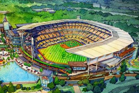 Braves Reveal Latest Renderings for New Park to Open in 2017