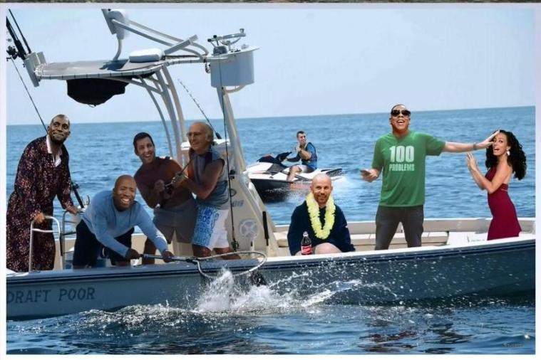 'Inside the NBA' Creates Fantastic Photoshopped Image of Nets Gone Fishin'