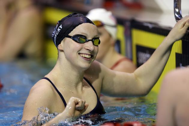 Olympic Swimmer Ledecky to Attend Stanford