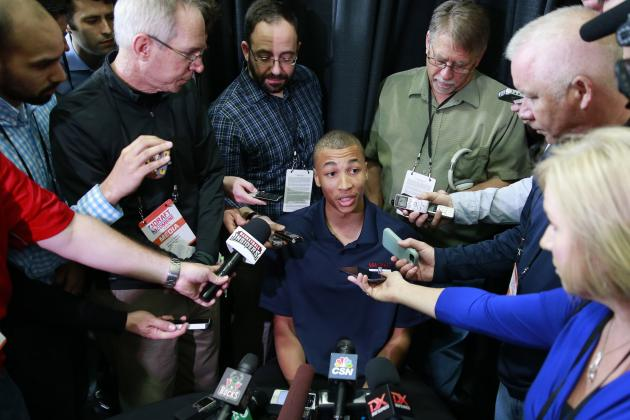 Dante Exum NBA Combine 2014: Measurements, Analysis and Draft Projection