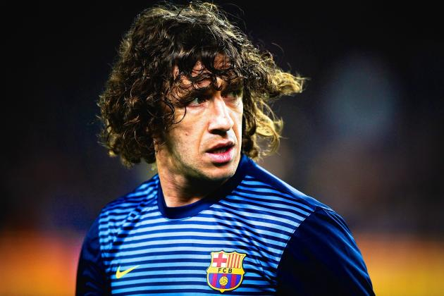 Carles Puyol Says Farewell to Barcelona During Emotional Ceremony