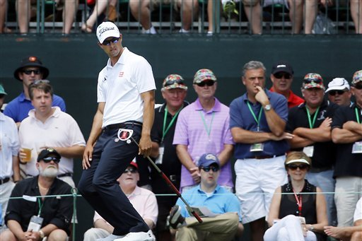 How Will Being the New World No. 1 Affect Adam Scott?