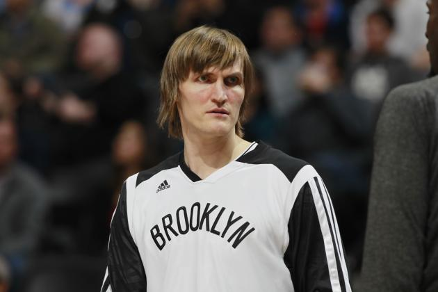 Report: Andrei Kirilenko Undecided on Returning to Brooklyn Nets Next Season