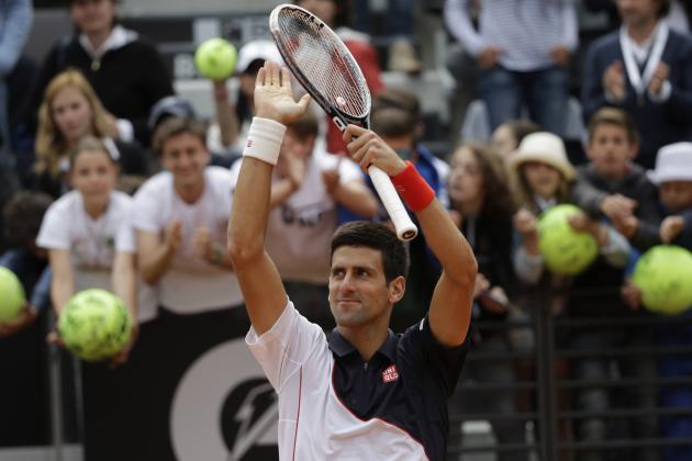 Novak Djokovic vs. Philipp Kohlschreiber: Score and Recap from 2014 Rome Masters