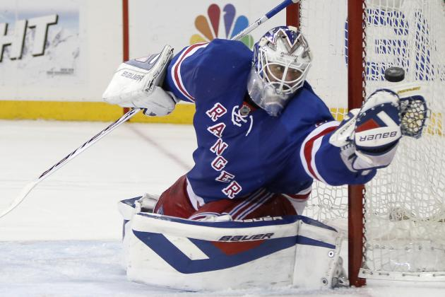 Rangers' Henrik Lundqvist First Goalie Ever to Win 5 Straight Game 7s
