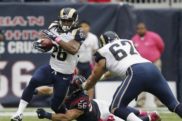 Reports: Rams Cut RB Daryl Richardson, 2 Others