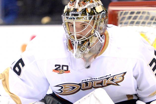 Ducks Rookie John Gibson the Latest Inexperienced Goaltender to Make a Splash