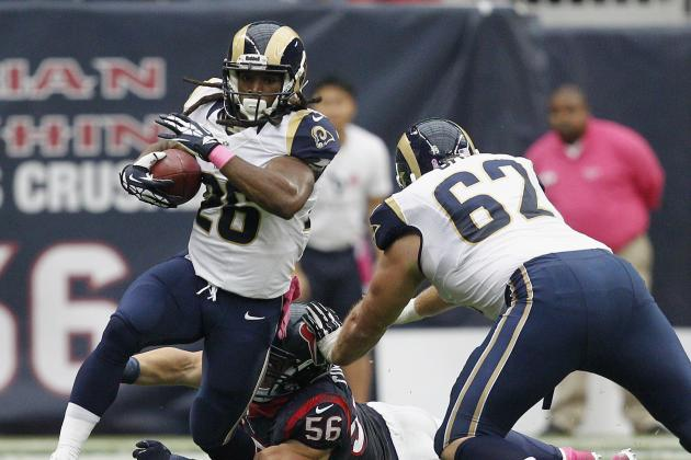 Daryl Richardson Released by St. Louis Rams