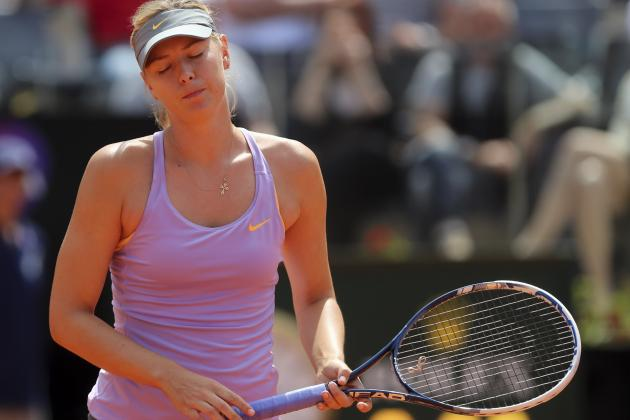 Italian Open 2014: Maria Sharapova's Clay Vulnerability Resurfaces Before French