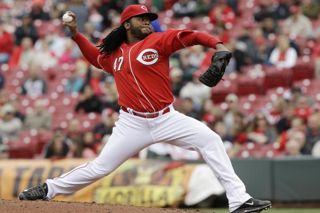 Reds' Pitcher Johnny Cueto off to Historic Start in 2014