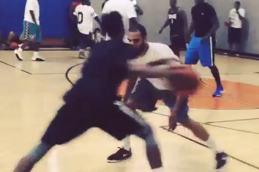 Watch: Nick Young Plays at 24 Hour Fitness