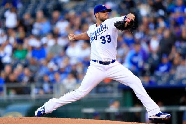 Royals' James Shields 1 of 18 Active Pitchers with 1,500 Career Strikeouts