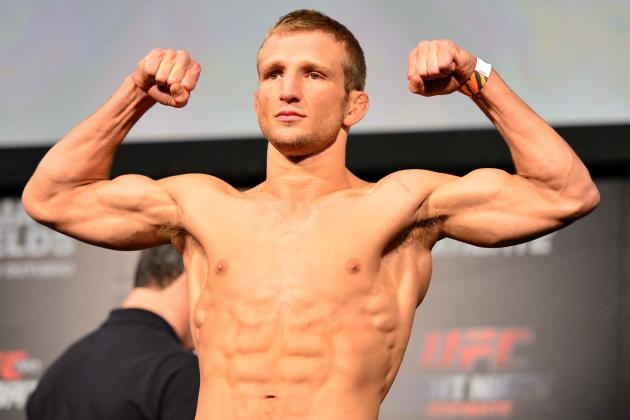 T.J. Dillashaw Believes All the Pressure Will Be on Renan Barao at UFC 173