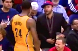 Paul George Trash Talks with Wizards Fans in 3rd Quarter of Game 6