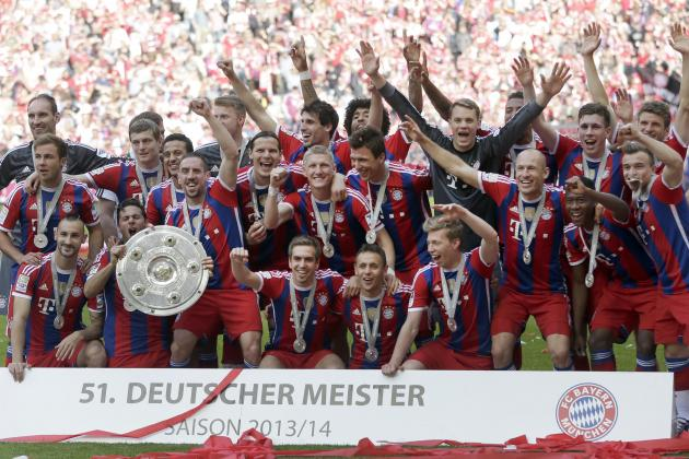 How Long WIll It Be Until Bayern Munich Are Unseated in the Bundesliga?