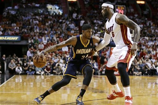NBA Playoff Schedule 2014: Bracket, Full TV Info for Eastern Conference Finals