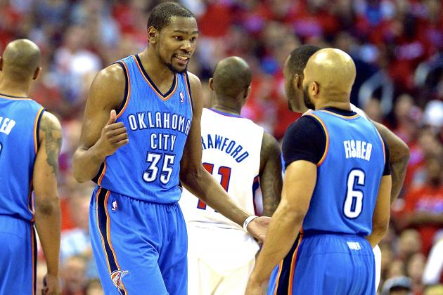Thunder vs. Clippers: Game 6 Score and Twitter Reaction from 2014 NBA Playoffs