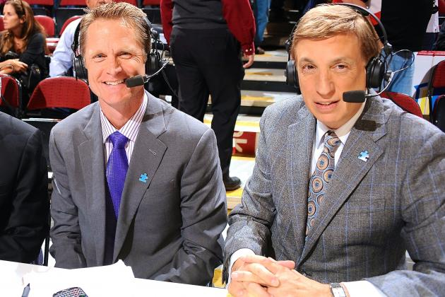 Marv Albert Warned Steve Kerr About Working for Knicks: 'It Never Ends Well'