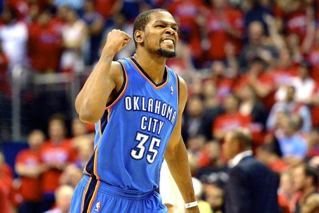 Kevin Durant Dominates Clinching Game Yet Again as Thunder Oust LA Clippers