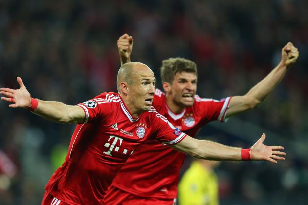 Manchester United Transfer News: Arjen Robben and Thomas Mueller Top Shortlist