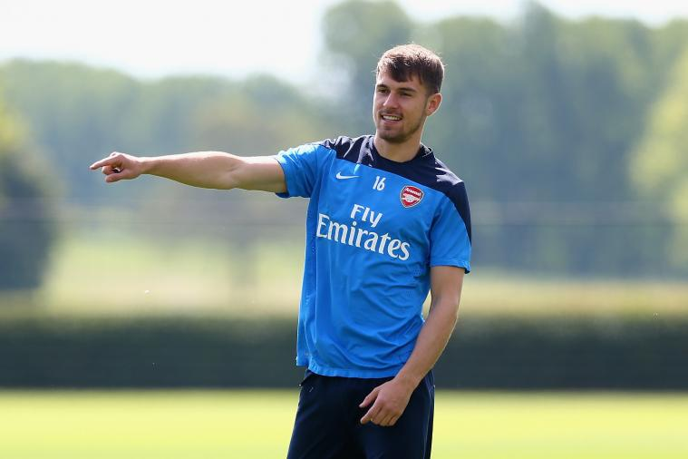 FA Cup Final 2014 Arsenal vs. Hull City: Aaron Ramsey Unveils Personalised Boots