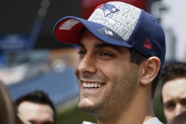 Jimmy Garoppolo Could Be Next Tom Brady or Next Ryan Mallett for Patriots