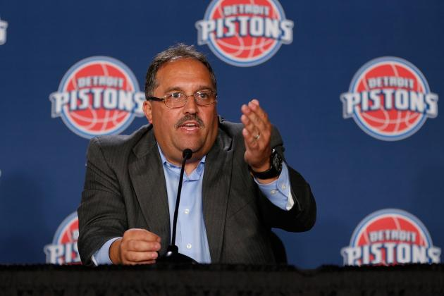 Stan Van Gundy Sets Vision for Detroit Pistons' Future: 'No Excuses Now'