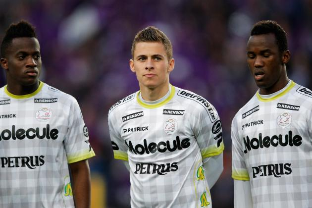 Thorgan Hazard Shakes 'Little Brother' Label at Zulte Waregem