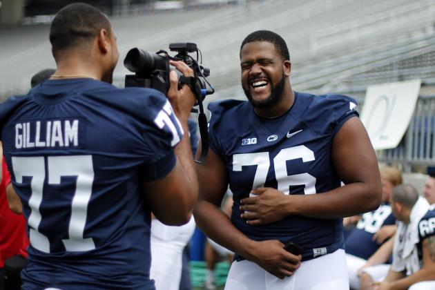 PSU O-Line Must Do More with Less