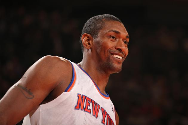 Metta World Peace Pokes Fun at 'Malice' Incident After Drinks Thrown at Refs