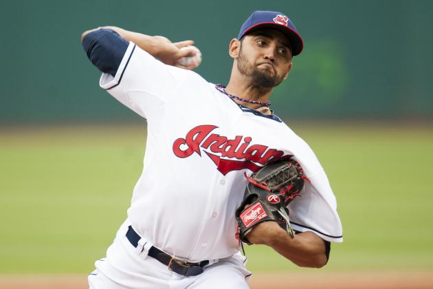 Indians Option RHP Salazar to Triple-A