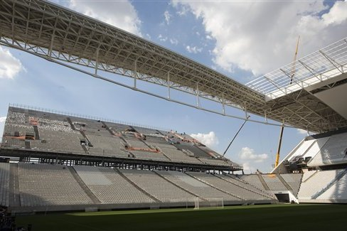 World Cup Stadium Roof Reportedly Won't Be Ready in Time for Tournament