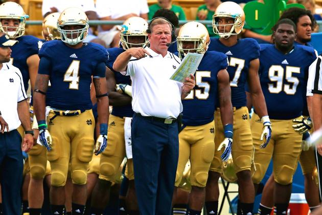 Brian Kelly's Wish to Continue Series vs. Michigan, Michigan State Has Obstacles