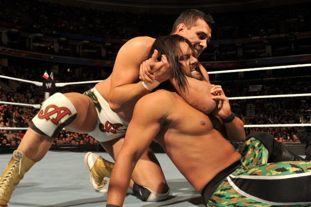 Tracing Alberto Del Rio's Fall out of the WWE Main Event Picture