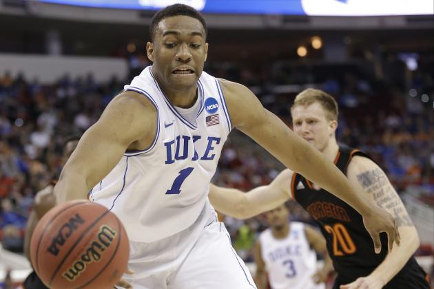 NBA Mock Draft 2014: Updated 1st-Round Projections After NBA Combine