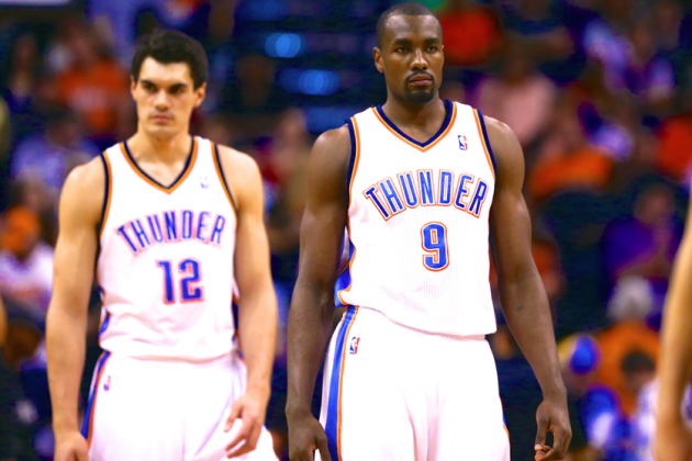 Serge Ibaka Injury Means Steven Adams and Nick Collison Must Step Up for Thunder