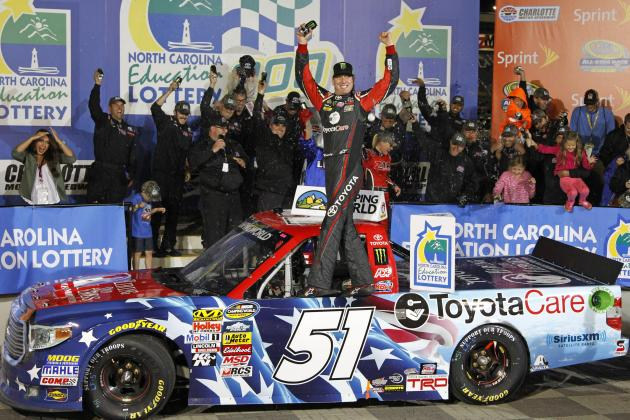 NASCAR Truck Series at Charlotte 2014: Results, Winner, Standings and Reaction