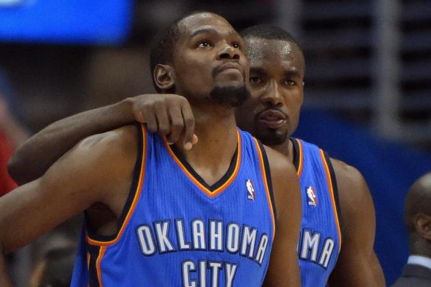 Can OKC Thunder's Floor Spacing Survive Loss of Serge Ibaka?