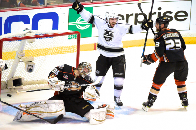 Kings' Game 7 Magic Far Too Much for Ducks as L.A. Streaks into Chicago Showdown