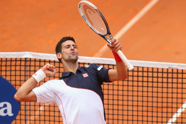 Novak Djokovic vs. Milos Raonic: Score and Recap from 2014 Rome Masters