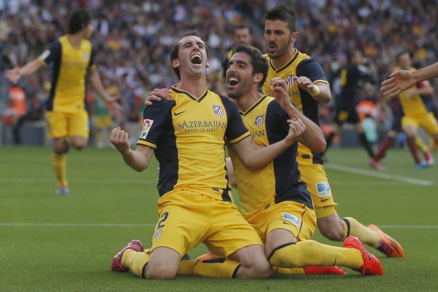 Twitter Reacts to Atletico Madrid Winning La Liga Title