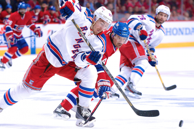 New York Rangers vs. Montreal Canadiens Game 1: Live Score and Highlights