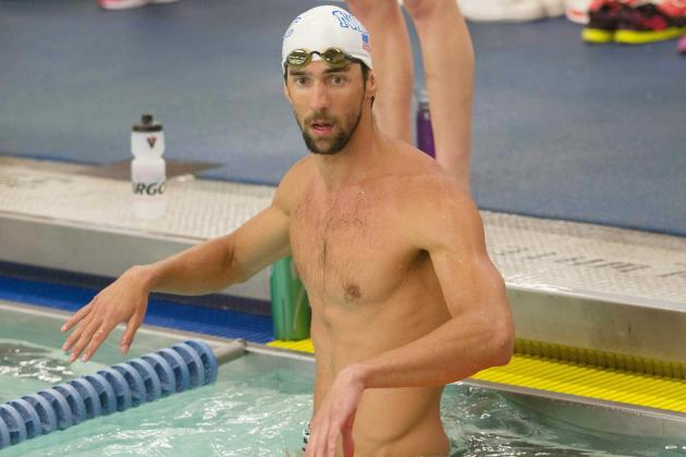 Phelps' Comeback Plan Starts to Take Shape