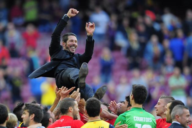 Barcelona vs. Atletico Madrid: Reaction of Gerardo Martino, Diego Simeone & More