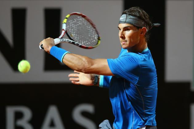 Rafael Nadal vs. Grigor Dimitrov: Score and Recap from 2014 Rome Masters