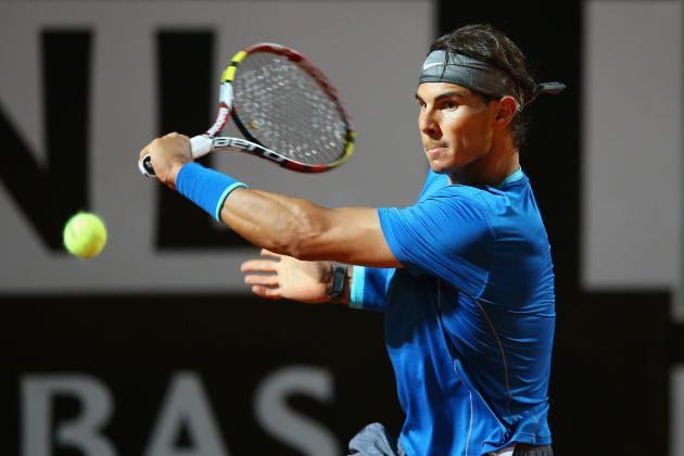 Rafael Nadal vs. Grigor Dimitrov: Score and Recap from 2014 Rome Masters