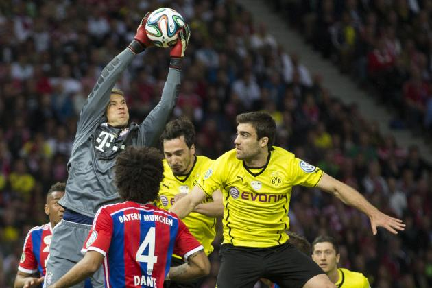 Goal-Line Controversy in DFB-Pokal Final as BVB Denied, Bayern Munich Win Cup